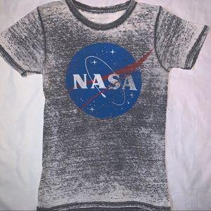 Tops - NASA see through graphic tee